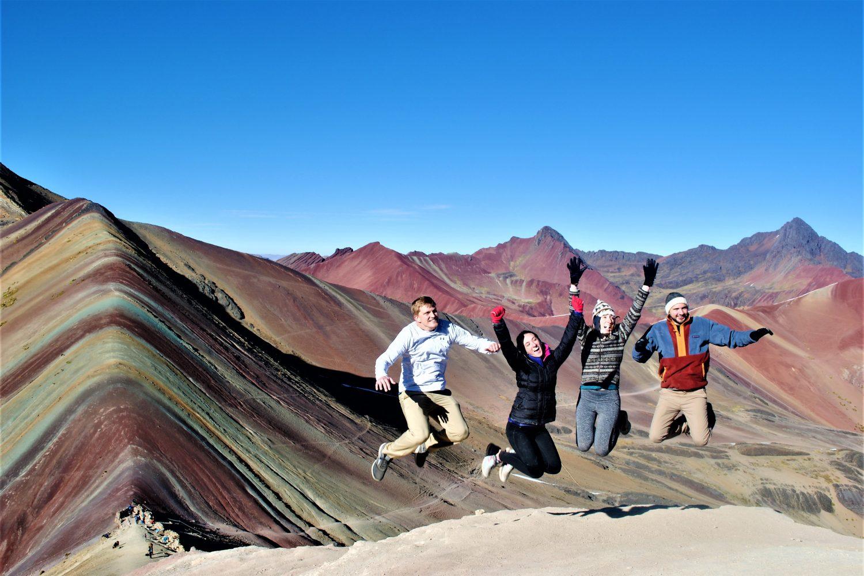 Rainbow Mountain Hike Peru